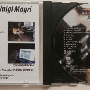 "cd musicale ""accordi"" di gianluigi Magri"