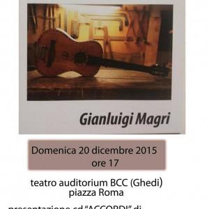 """intermezzo musicale cd """"accordi"""" di gianluigi Magri"""