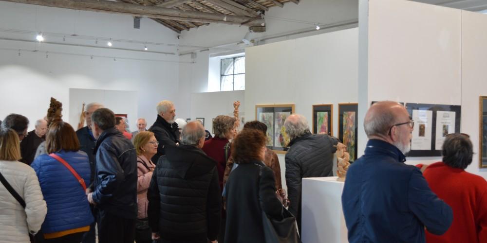 """inaugurazione """"Emozioni diverse 3″ mostra di pittura e scultura"""