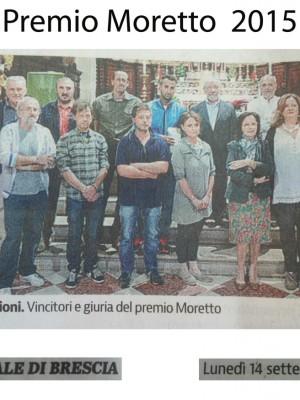 Artestrasse e premio Moretto    6-13settembre 2015