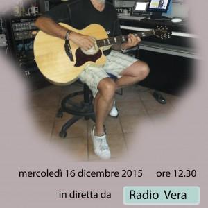 intervista a Radio Vera al cant'autore  gianluigi Magri